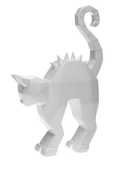 פסלון קרמיקה חתול CAT