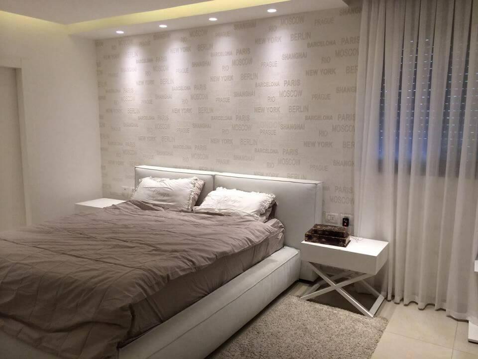 מיטה זוגית מעור